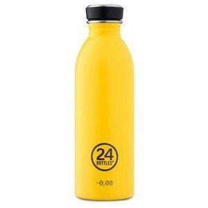 Trinkflasche 0,5 l gelb 24bottles