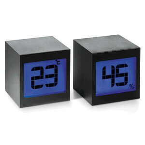 Magische Uhr Two 2-tlg. schwarz Philippi