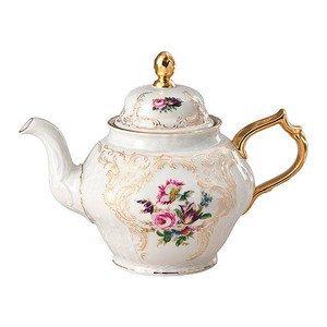 Teekanne 1,25 l Sanssouci Elfenbein Diplomat Rosenthal