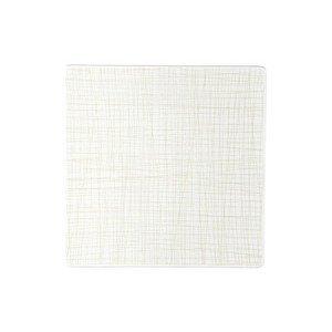 Teller quadr. 31 cm flach Mesh Line Cream Rosenthal