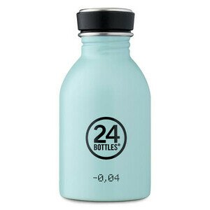 Trinkflasche 0,25 l Urban Bottle pastellblau 24bottles