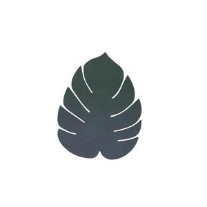 Untersetzer Monstera Leaf Nupo Dark Green LINDDNA