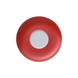 """Cappuccino-Untertasse 16,5 cm rund mit Spiegel """"Sunny Day New Red"""" Thomas"""