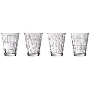 Wasserglas-Set 4-tlg. Dressed Up Clear Villeroy & Boch