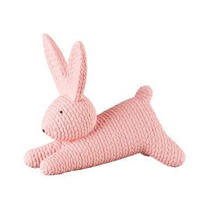 Hase mittel liegend Rabbits Rosé Rosenthal