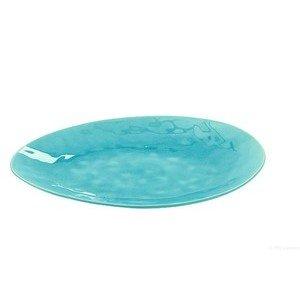 Platte 34x28cm Craquele A La Plage turquoise ASA