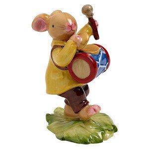 Häschen mit Trommel 8 cm Bunny Family Villeroy & Boch