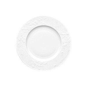 """Speiseteller 25 cm """"Zauberflöte Weiß"""" Rosenthal"""