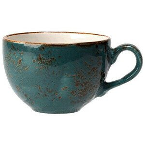 Cappuccinotasse 340 ml Craft Blue Steelite