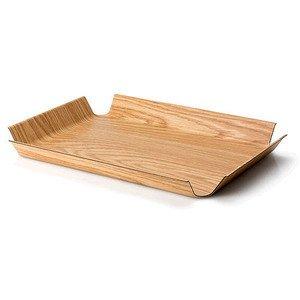 Tablett 45x34 cm Holzoptik hel rutschfest Continenta