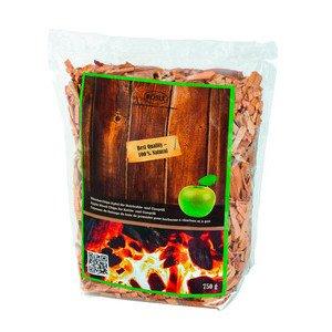 Räucherchips Apfel 750 g für Holzkohle- u. Gasgrill Rösle
