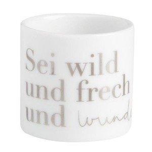 Teelichthalter Wunderbar 4,5 cm Helle Freude Räder
