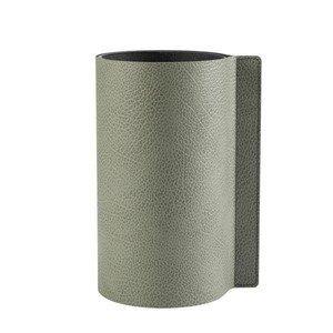 Block Vase 25 cm Hippo olive green LINDDNA