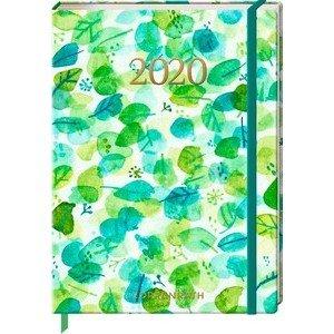 Jahreskalender Blätterregen Mein Jahr 2020 Coppenrath