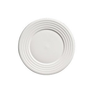 Teller flach 22 cm Bone China Relief Dibbern