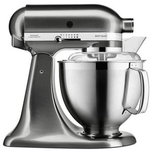 Küchenmaschine 4,8 l Artisan metall gebürstet KitchenAid
