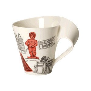Becher m. Henkel 0,3 l Brüssel Cities of the World Mug Villeroy & Boch