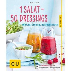 Buch: 1 Salat - 50 Dressings Gräfe und Unzer