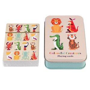 Kartenspiel in Dose Colourful Creatures Rex International