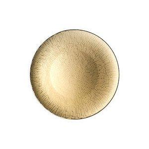 """Platzteller 33 cm """"TAC Skin Gold"""" Rosenthal"""