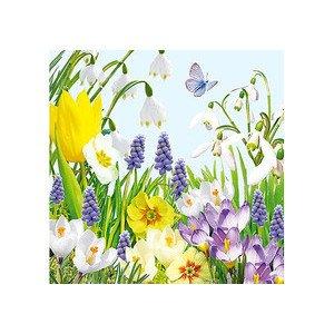 Servietten 33x33 cm Spring Time Ambiente