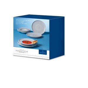 Dinner Set 8tlg. Artesano Nature bleu -- Villeroy & Boch
