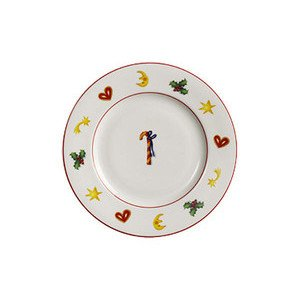 "Frühstücksteller 21 cm ""Seasons Greetings"" Dibbern"