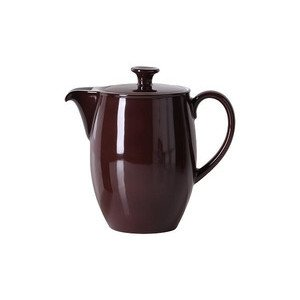 Kaffeekanne 1,25 ltr. Solid Color kaffeebraun Dibbern