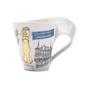 Becher m. Henkel 0,3 l Luxembo Cities of the World Mug Villeroy & Boch