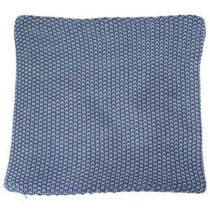 Kissenhülle 40x40 cm Husum blau 100 % BW Kaheku