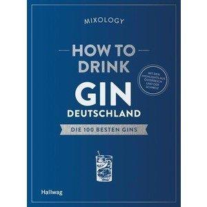 Buch: How to drink Gin Deutschland Hallwag