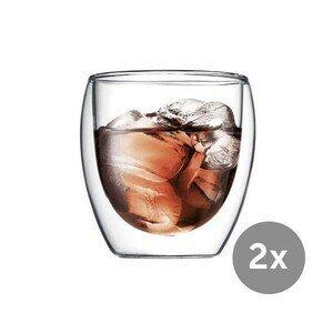 Kaffeeglas 2er-Set 0,25 l Pavina Bodum