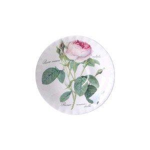 "Kaffee-Untertasse ""Redoute Roses"" Roy Kirkham"