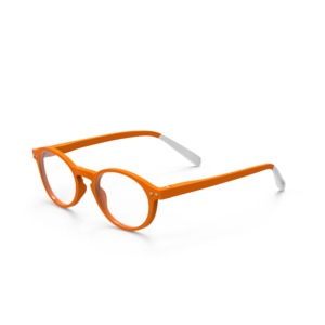 Lesebrille +1,5 Pantone TWO orange afternoon