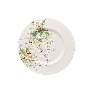 "Frühstücksteller 19 cm Blumen ""Brillance Fleurs Sauvages"" Rosenthal"