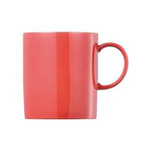 """Becher 300 ml zylindrisch mit Henkel """"Sunny Day New Red"""" new red Thomas"""