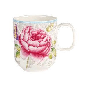 Becher m.Hkl.0,35l grau Rose Cottage Villeroy & Boch