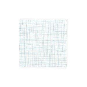 Teller quadr. 17 cm flach Mesh Line Aqua Rosenthal