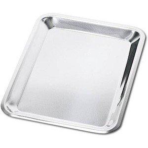 Tablett Edelstahl zu Allesschneider 24x18cm Graef