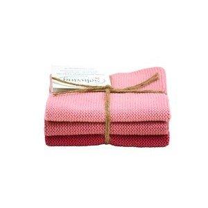 Wischtücher 3er-Set antikes rosa Solwang