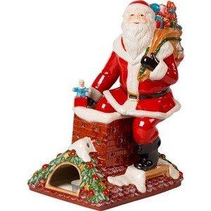 Santa auf Dach 23,5x17x32cm Christmas Toys Memory Villeroy & Boch