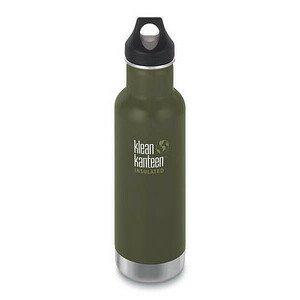 Trinkflasche Classic grün matt 592ml klean kanteen