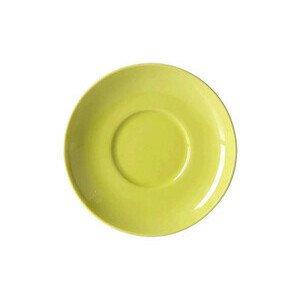 Untertasse 0,25 l Solid Color limone Dibbern