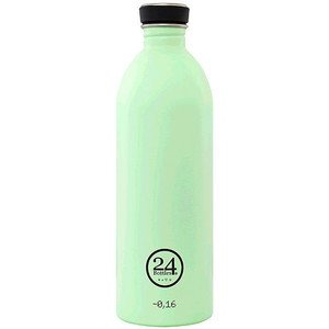 Trinkflasche 1,0l pastell-grün 24bottles
