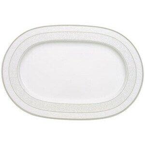 Platte 35 cm oval Gray Pearl Villeroy & Boch
