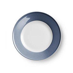 Teller flach 26 cm Fahne Solid Color indigo Dibbern