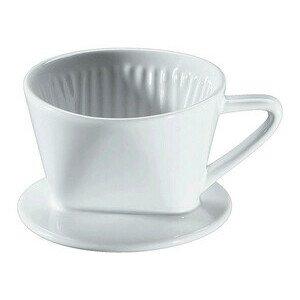 Kaffeefilter Größe 1 Keramik weiss glasiert Cilio