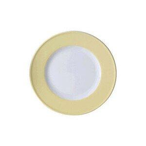 Teller 21cm Fahne Solid Color vanille Dibbern
