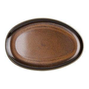 Platte 28 cm Junto Bronze Rosenthal