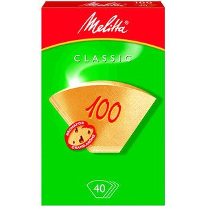 Filtertüte 100 naturbraun Packung 40 Stück Melitta